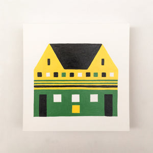 Tiny Houses #009 - Original painting