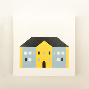 Tiny Houses #012 - Original painting