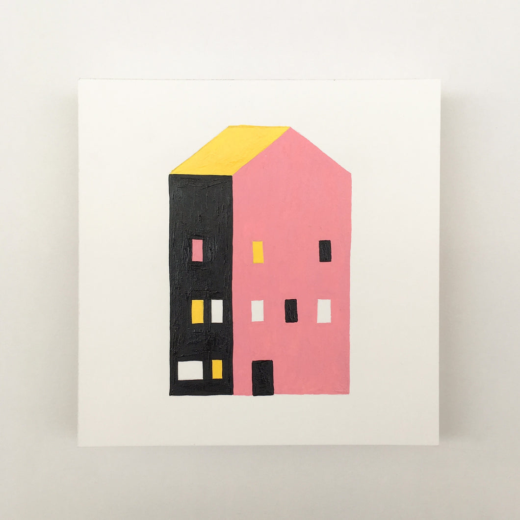 Tiny Houses #002 - Original painting