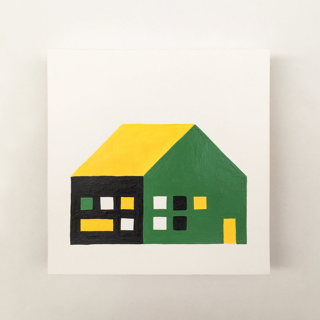 Tiny Houses #005 - Original painting