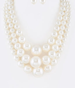 Multi strand pearls