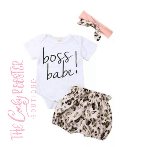 Boss babe outfit