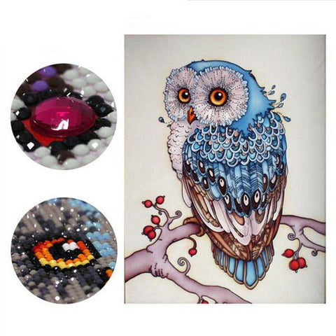 5D Owl Gemstones Painting Kit - Superdeals-Cart