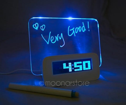 Personal Message Alarm Clock