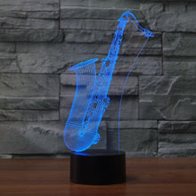 Load image into Gallery viewer, 3D LED Night Light Saxophone - Superdeals-Cart