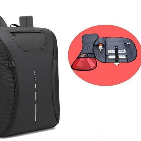 Fully-Opened Smart Backpack