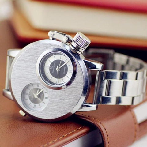 Dual Dial Vault Watch - Special Edition - Superdeals-Cart