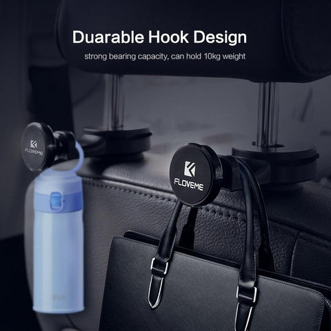 Car Headrest Magnetic Holder