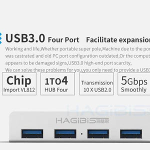 Ultra Thin iMac/iMacPro USB 3.0 HUB - Superdeals-Cart