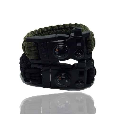 15-in-1 Wrist bands Rope Survival Kits - Superdeals-Cart