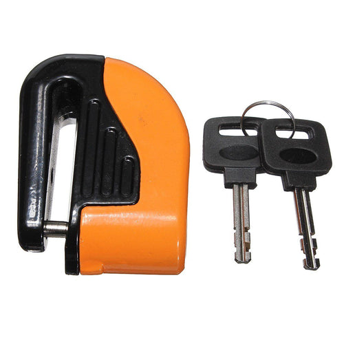 Motorcycle Lock with Alarm