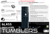 Image of Glass Liner Insulation Tumbler - Superdeals-Cart