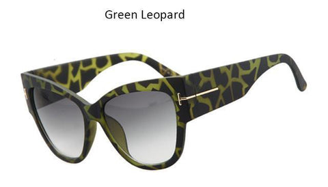 Vintage Oversize Cat Eye Sunglasses - Superdeals-Cart