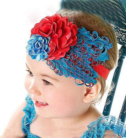 Gorgeous Feather Headband! FREE Shipping!! - Superdeals-Cart