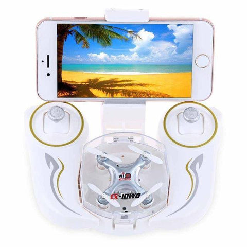 Cheerson CX-10W CX-10WD WiFi Drone With Camera Mini 6-Axis Gyro RC Quadcopter Headless Mode FPV Flying Camera wifi Toy Copter - Superdeals-Cart