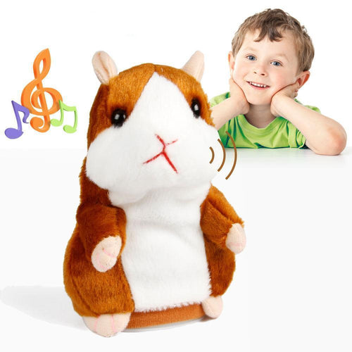 Talking Hamster Plush Toy - Best Seller - Superdeals-Cart