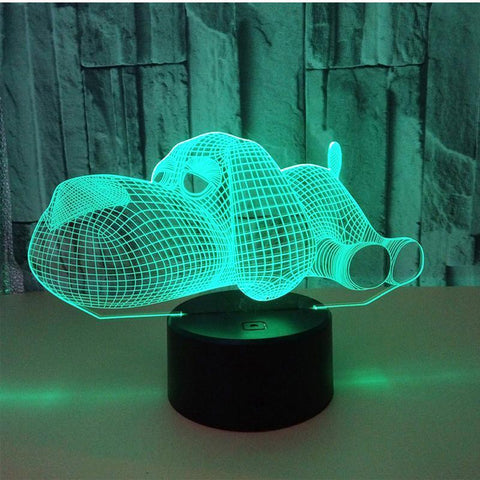 3D LED Dog Night Light - Superdeals-Cart