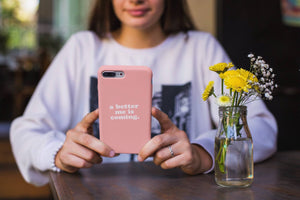 A Better Me Is Coming - Phone Case
