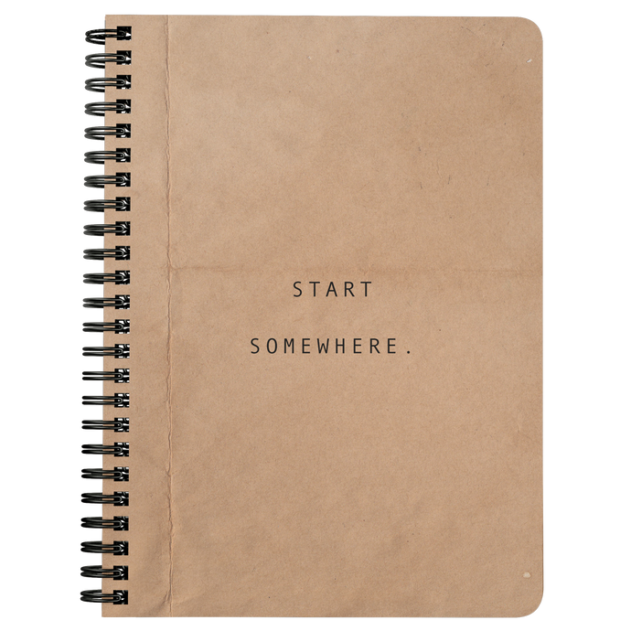 Start Somewhere - Notebook