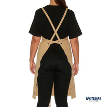 Load image into Gallery viewer, Khaki Full Cross-Back Apron