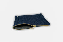 Load image into Gallery viewer, Large Hemp Zip Pouch