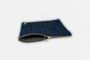 Large Hemp Zip Pouch