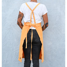 Load image into Gallery viewer, Marigold Full Cross-Back Apron