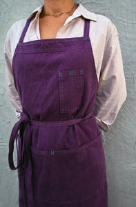 Night Shade Full Cross-Back Apron