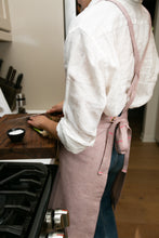 Load image into Gallery viewer, Pink Full Cross-Back Apron