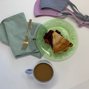 Hemp Napkins in Pastel