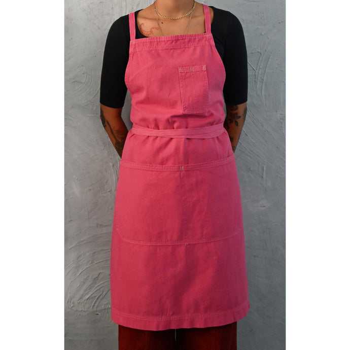 Bougainvillea Full Cross-Back Apron