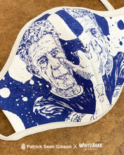 Load image into Gallery viewer, Patrick Sean Gibson x Masks to the People (One Plain/ One Bourdain)