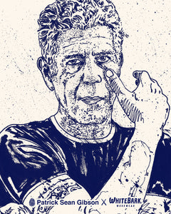 Patrick Sean Gibson x Masks to the People (One Plain/ One Bourdain)