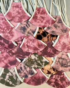Emily Lloyd x Masks to the People (One Plain/ One Negative Dye)