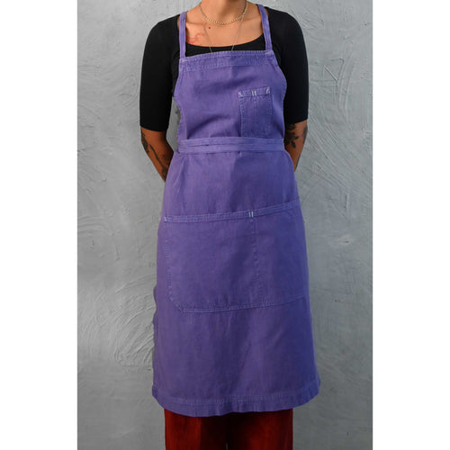 Iris Full Cross-Back Apron