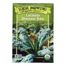 Load image into Gallery viewer, Lacinato Dinosaur Kale - High Mowing Organic Seeds