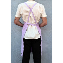 Load image into Gallery viewer, Lavender Full Cross-Back Apron