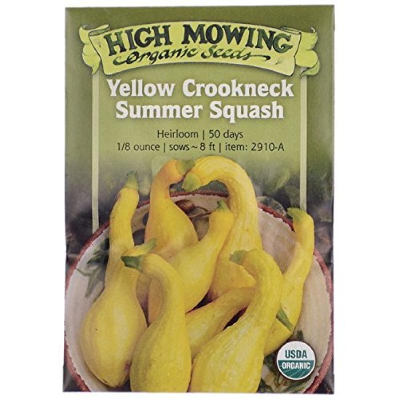 Yellow Crookneck Summer Squash - High Mowing Organic Seeds
