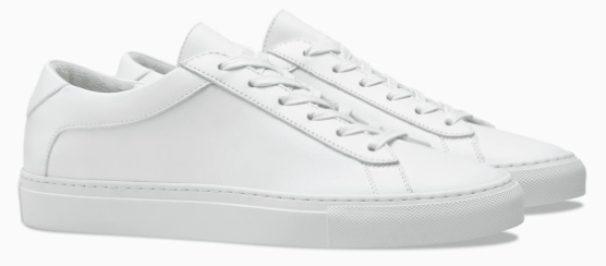 KOIO - Capri Triple White - Leather Sneakers