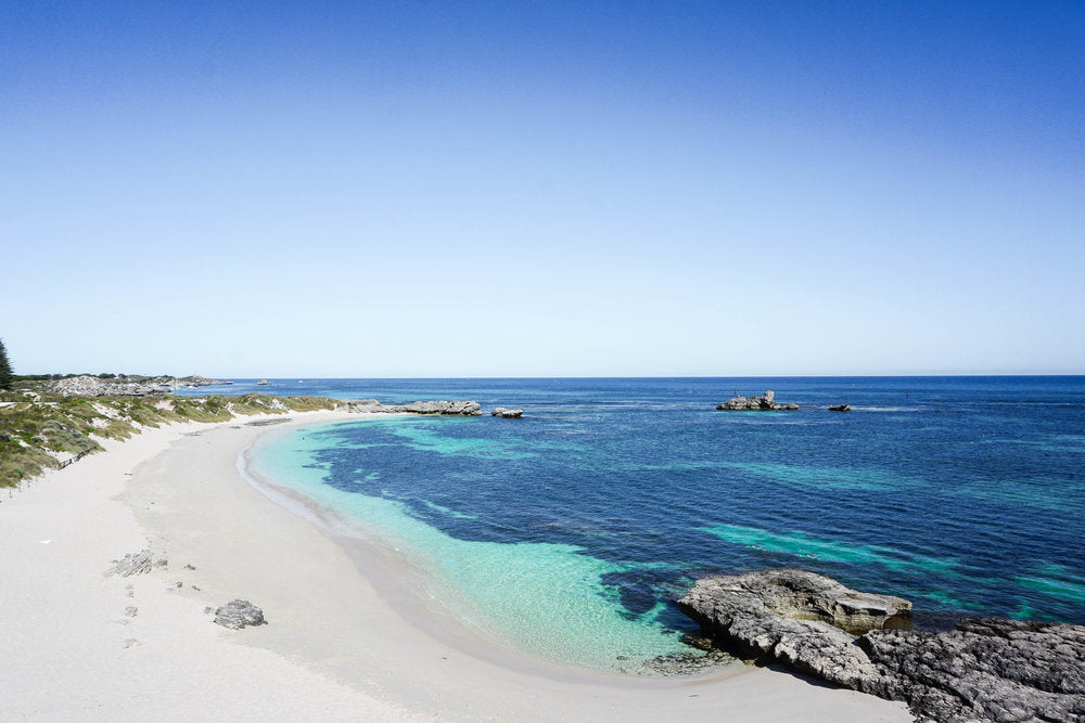 White Sand Beach - Turquoise Waters - Perth, Australia