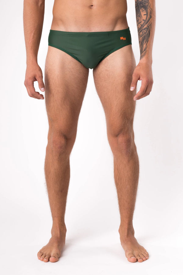 Designer speedo swim brief for men - Copper Bottom Swim