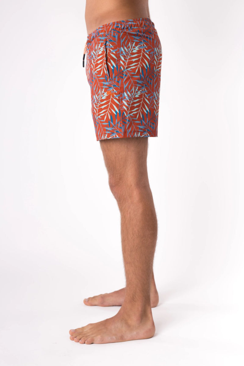 Short swim trunks for men - Copper Bottom Swim