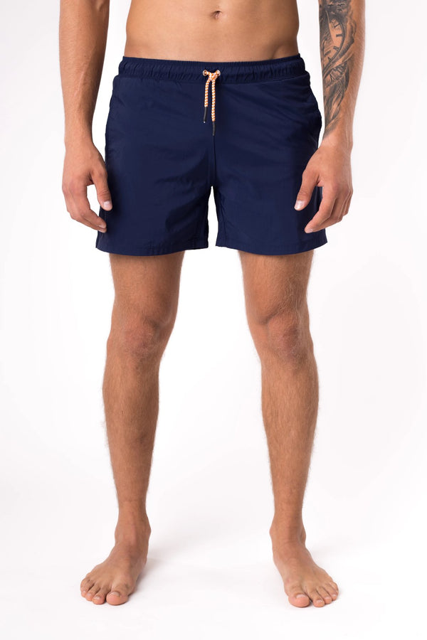 Navy blue swim trunks - Copper Bottom Swim