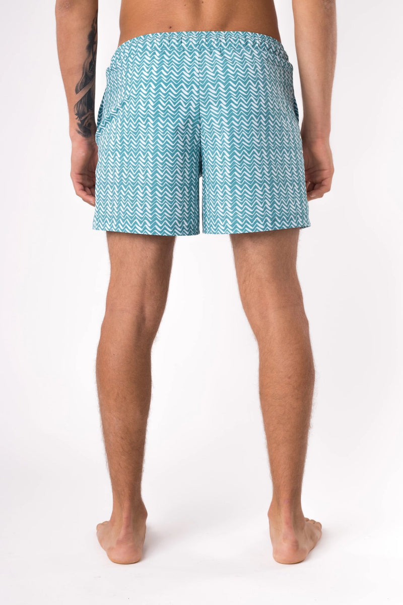 Cool swim trunks for men - Copper Bottom Swim