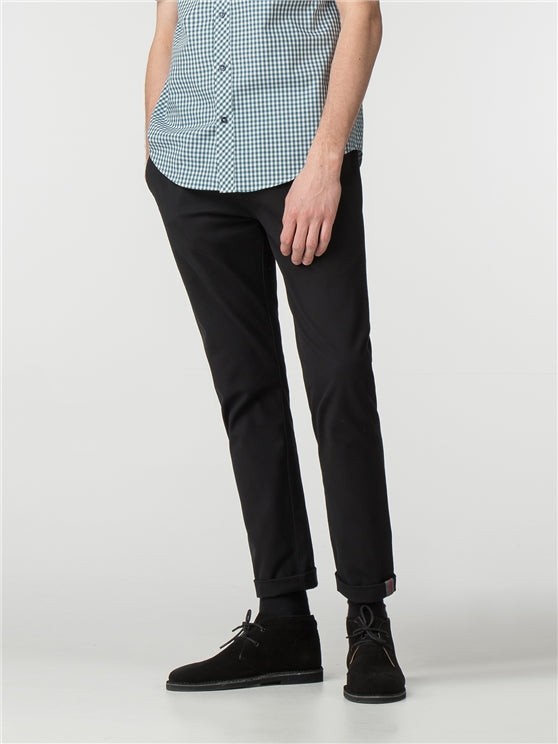 Pantalón Skinny Stretch Chino - Black