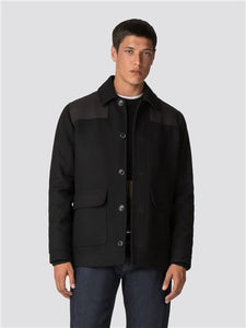Waxed Donkey Jacket - Black