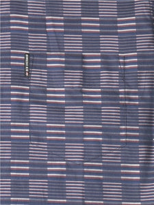 "Camisa Manga Larga ""Ivy Stripe Check"" - Navy"