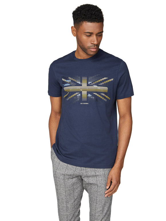 Playera Estampada - Dark Navy