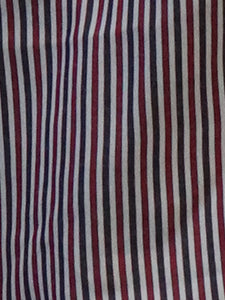 Camisa manga larga para caballero - Red Stripes
