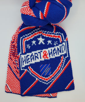 Heart and Hand Collab Scarf with The Famous